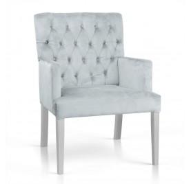 Krzesło ZARZA Srebrne BL03...