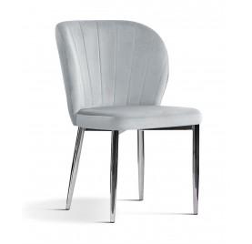 Krzesło CHERY DARIA Srebrne...