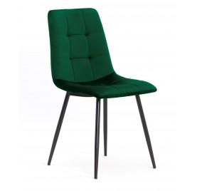 Krzesło MIKY zielony/ noga czarna