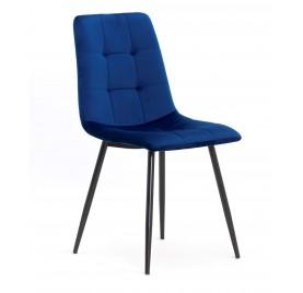 Krzesło MIKY granatowy/ noga czarna