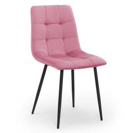 Krzesło ALEX różowy/ noga czarna