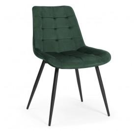 Krzesło KAIR zielony/ noga czarna