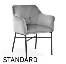 Krzesło BOSTON / noga czarna / wzornik GR STAND.
