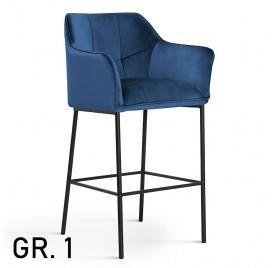 Hoker BOSTON / noga czarna / wzornik GR. 1
