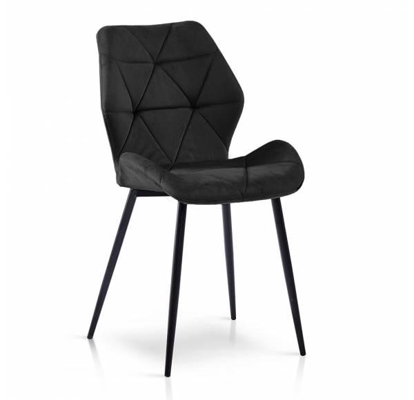 Krzesło NAPOLI czarny/ czarny